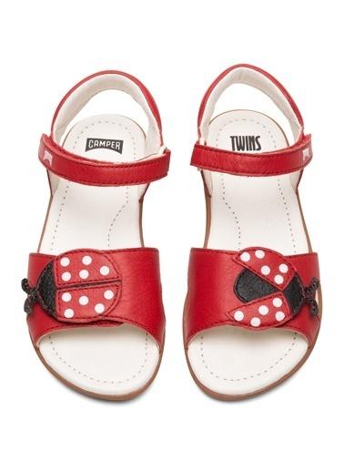 Camper TWS Kids Sandalet Kırmızı